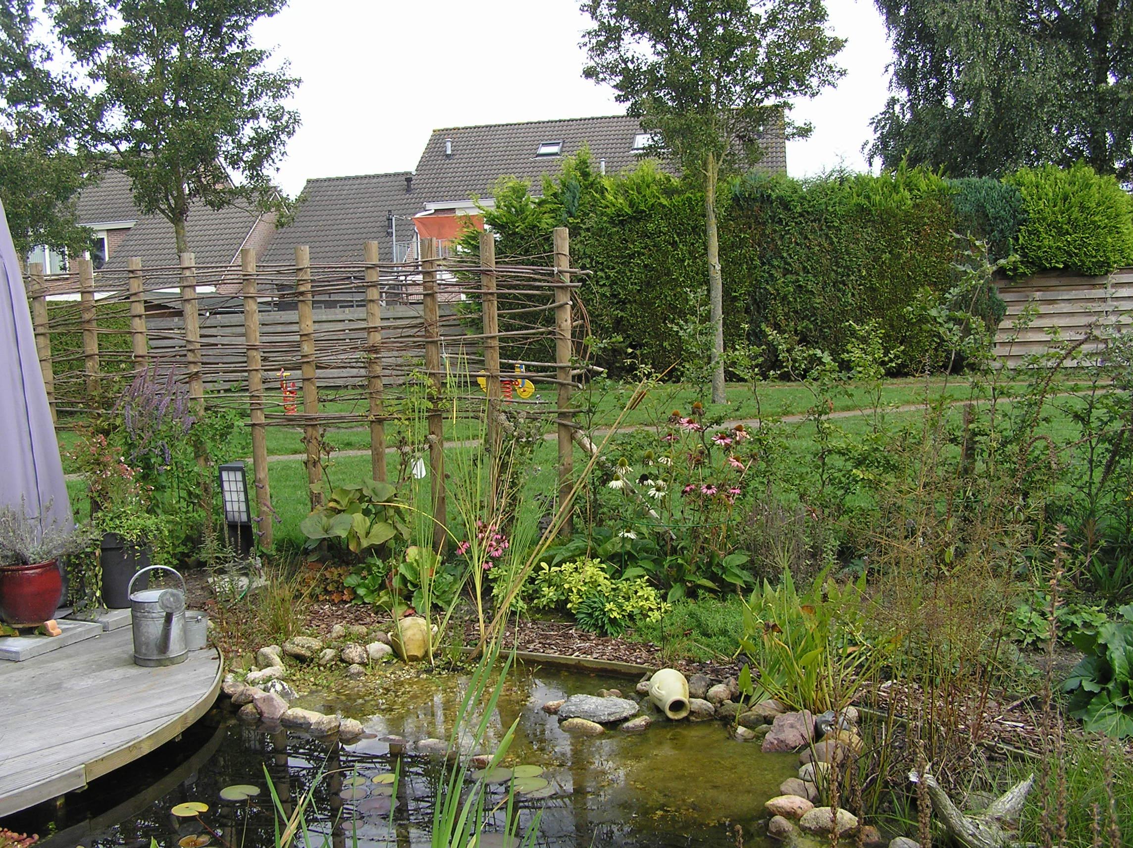 Natuurlijke achtertuin